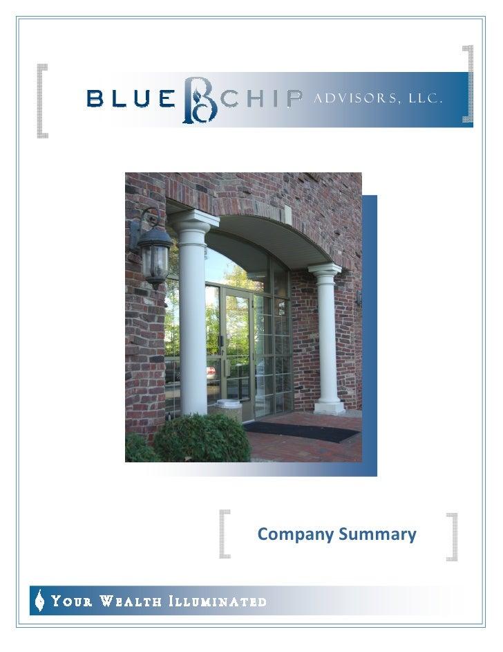 ADVISORS, LLC .     Company Summary