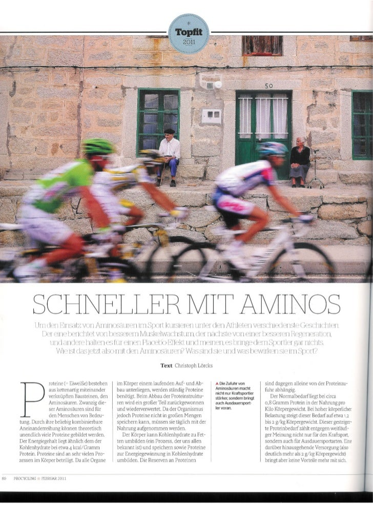 BCAA´s im Radsport - Training und Wettkampf