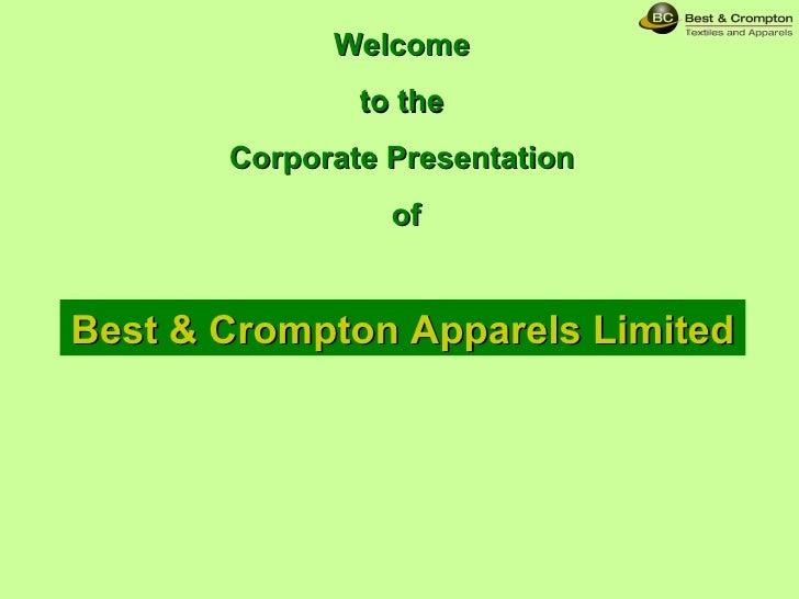 BCAL Corporate Deck