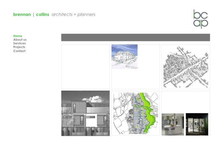 brennan  |  collins   architects + planners Home About us Services Projects Contact