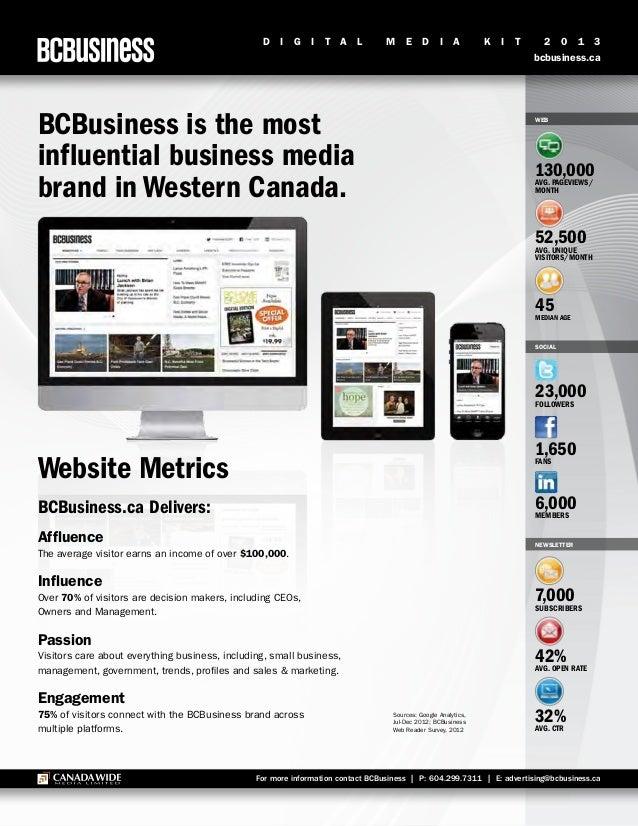 Bcb digital media kit 2013
