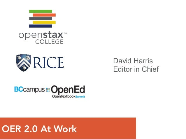 Open Textbook Summit - Emerging OER Distributed Ecosystem to Improve Student Access