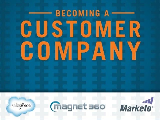Becoming a Customer Company Keynote