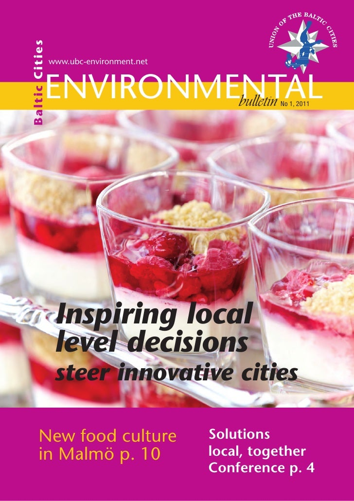 Ba ltic C itie s                   www.ubc-environment.net               Environmental                        bulletin    ...