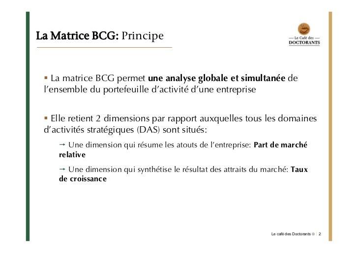 Bcg Application