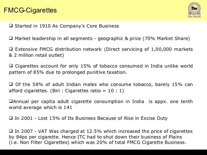 marketing proposal for itc agarbattis Itc's agarbatti brand mangaldeep plans to take its market share to 13 per cent by  fy19 up from 10 per cent now.