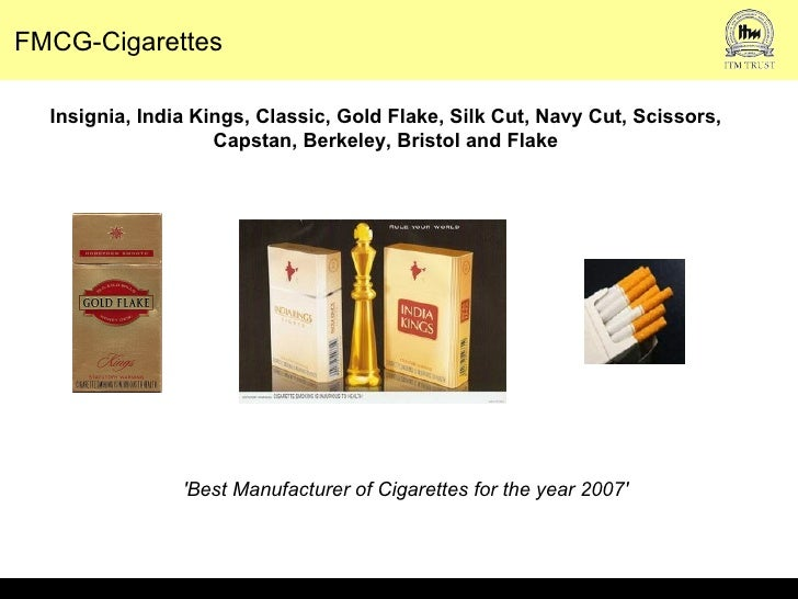 itc ciggaretes Established in 1910 as the imperial tobacco company of india limited, the company was renamed as the indian tobacco company limited in 1970 and further to itc limited in 1974 the periods in the name were removed in september 2001 for the company to be renamed as itc ltd.