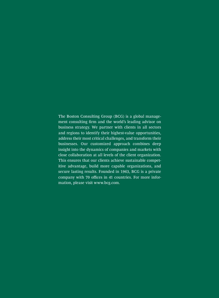 boston consulting group research papers This is the fourth annual research report jointly produced by mit sloan management review and the boston consulting group on the.