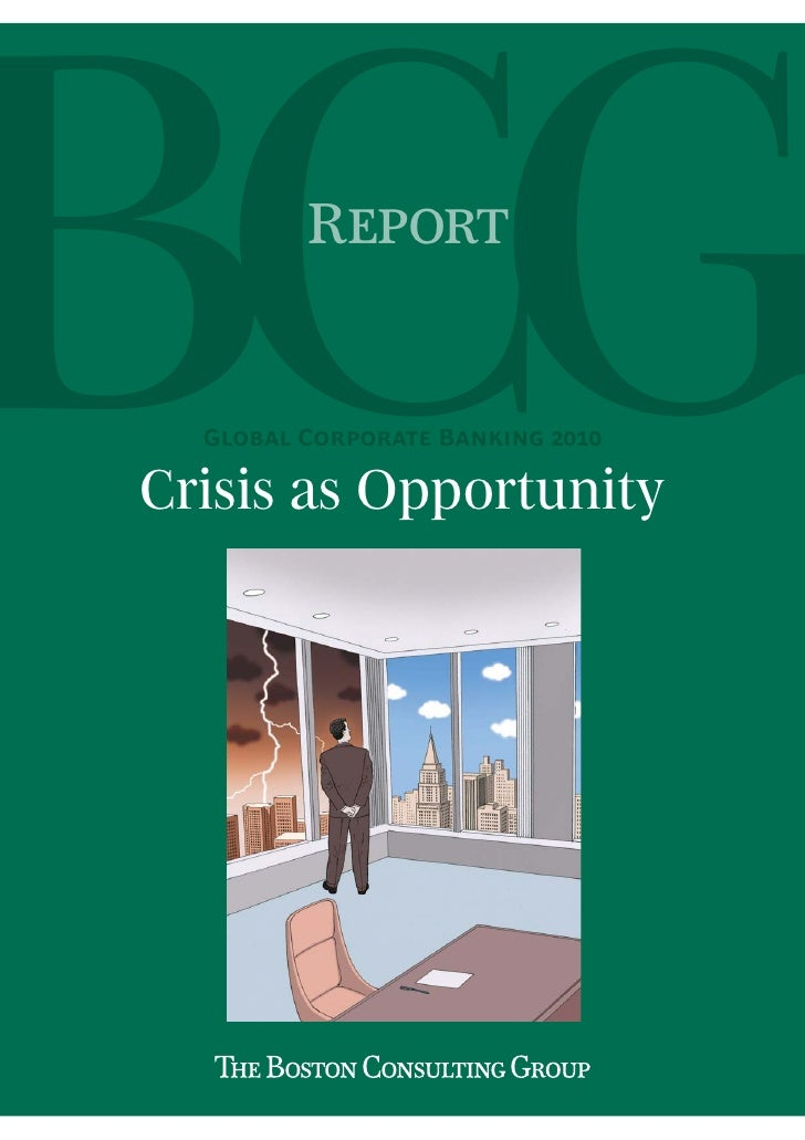 R  G C B Crisis as Opportunity