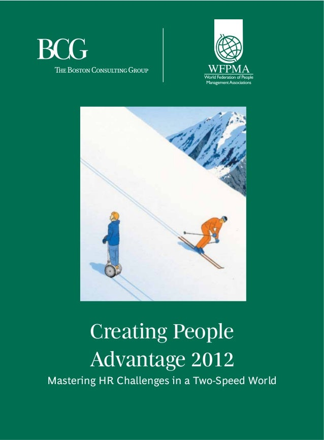 BCG Creating People Advantage (2012)