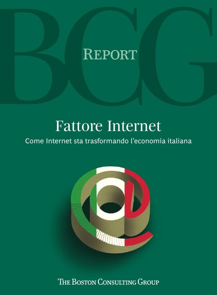 ITALY_Bcg fattore internet 2011