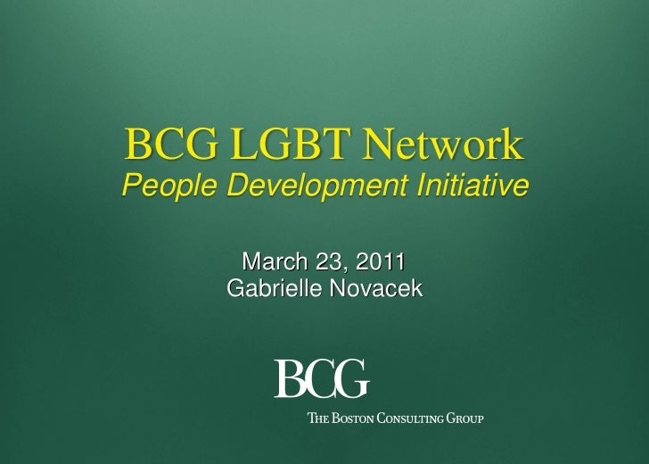 BCG Innovation Award  - People Development Initiative