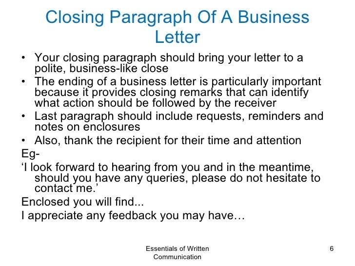 closing remarks for application letter