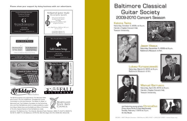Please show your support by doing business with our advertisers.                                                 Baltimore...