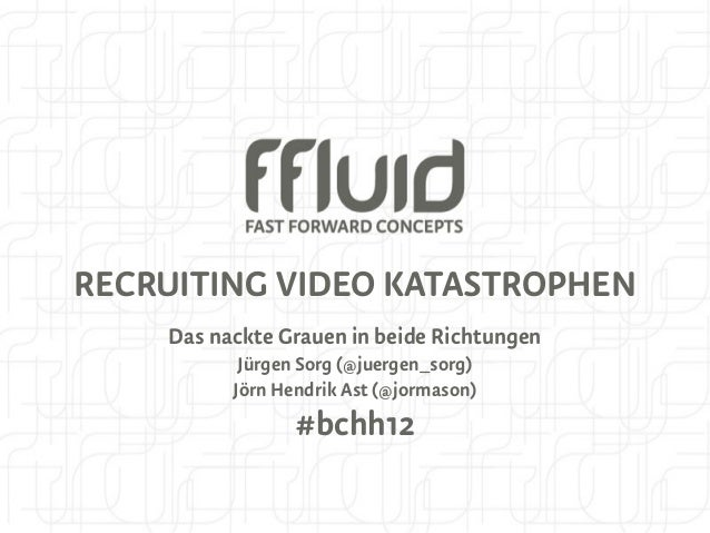 Recruiting Video Katastrophen