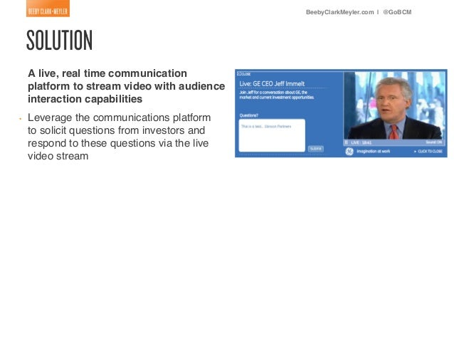 Communication - Business Case Studies