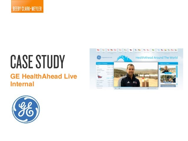 GE Live HealthAhead Case Study