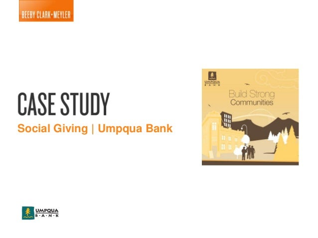 Umpqua Bank Social Promotion Case Study