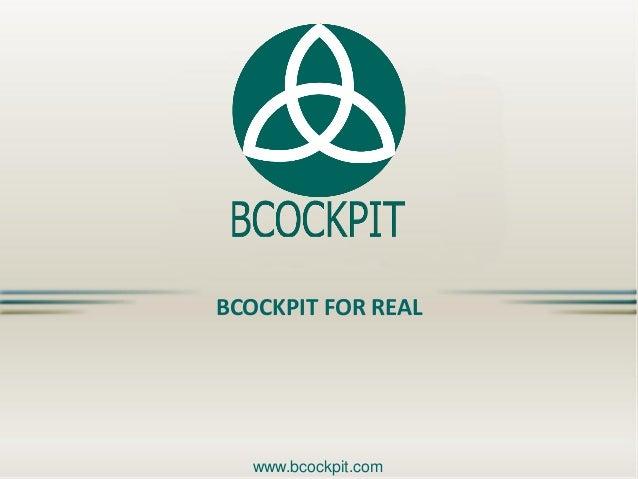BCockpit for Real