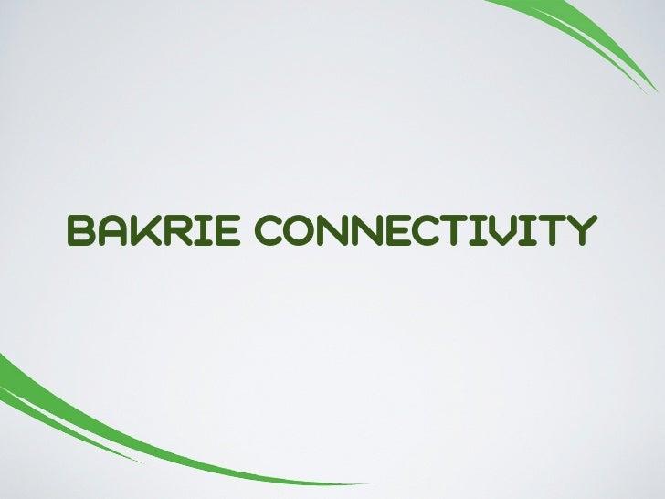 BAKRIE CONNECTIVITY