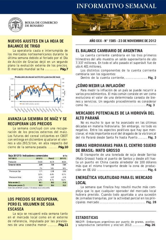 Bcr informativo semanal 23112012