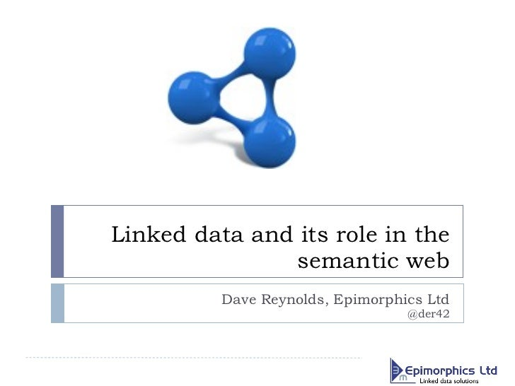 Introduction to linked data and the semantic web