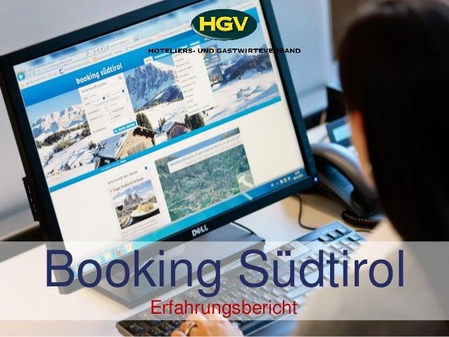 Booking Südtirol Erfahrungsbericht