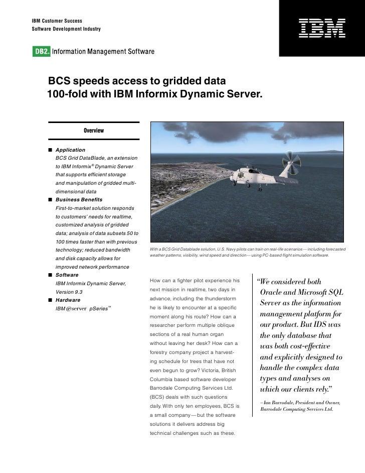 BCS Speeds Access to Gridded Data