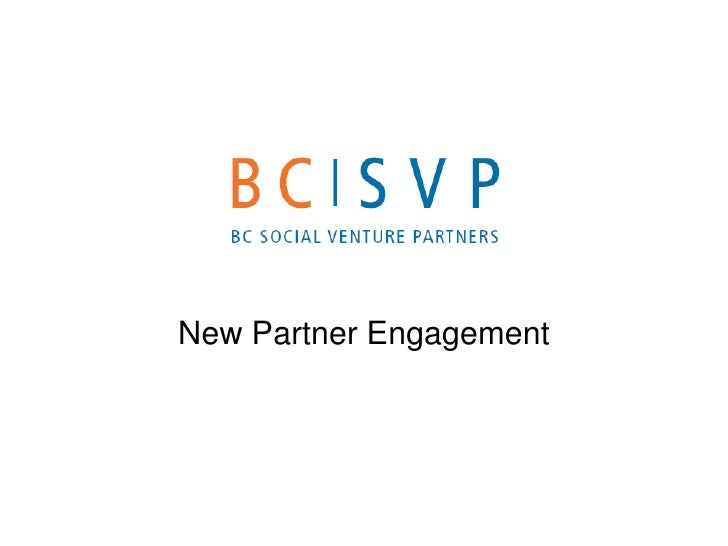 New Partner Engagement