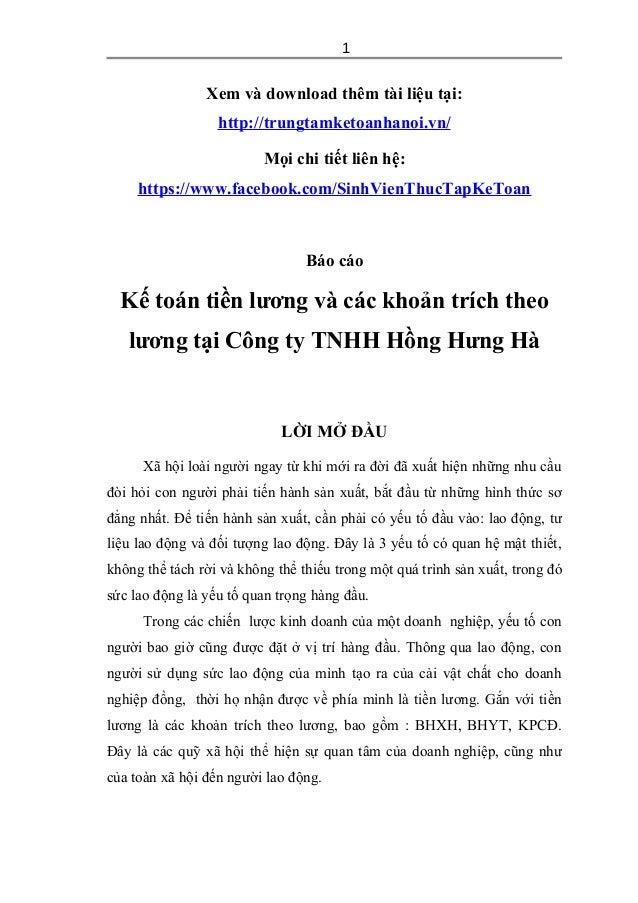 Xem và download thêm tài liệu tại: http://trungtamketoanhanoi.vn/ Mọi chi tiết liên hệ: https://www.facebook.com/SinhVienT...