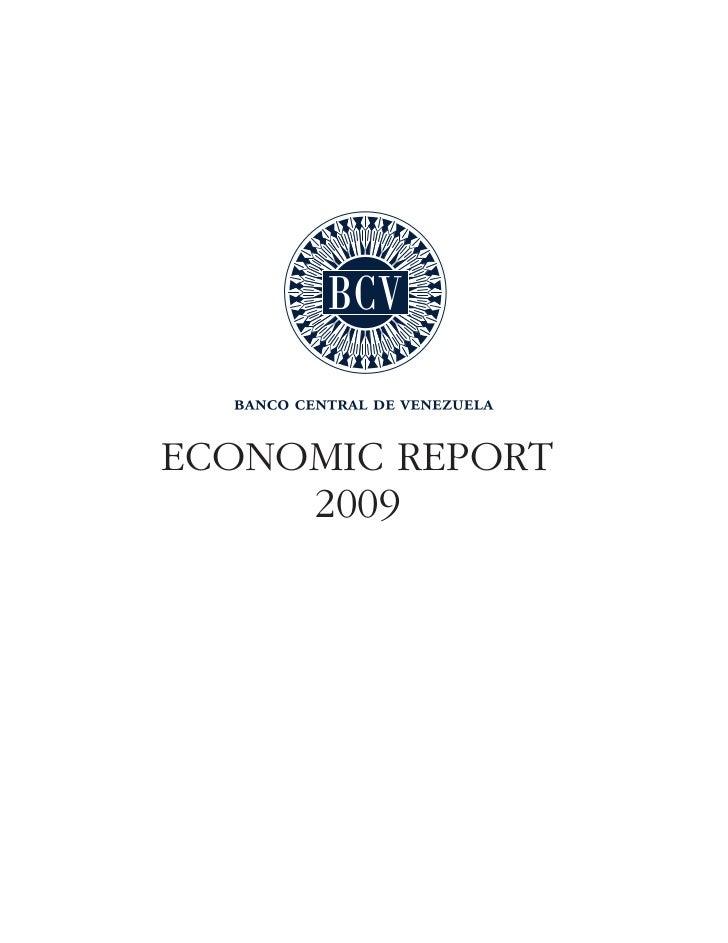 ECONOMIC REPORT     2009