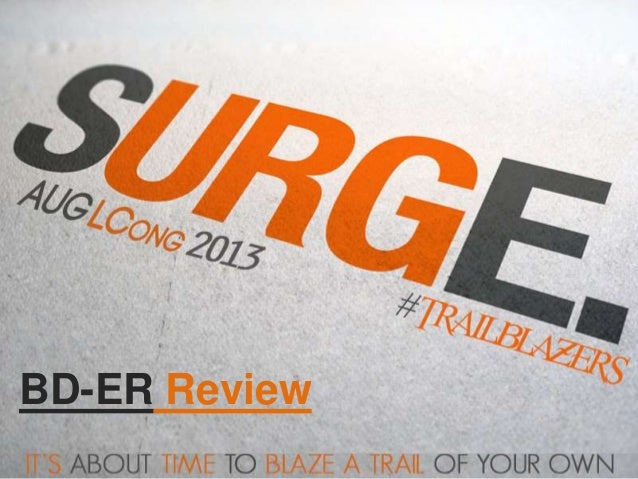 Bd   er '13 august lcong review
