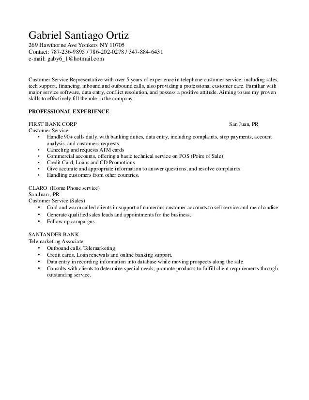 Resume For Call Center Call Center Resume Samples Sample Resumes