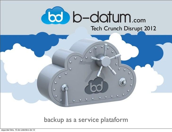 .com                                                      Tech Crunch Disrupt 2012                                      ba...