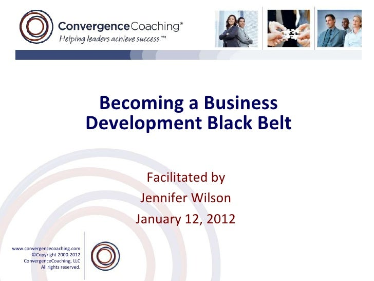 Becoming a Business                                  Development Black Belt                                         Facili...