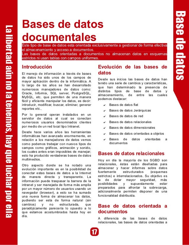 Bases de Datos Documentales