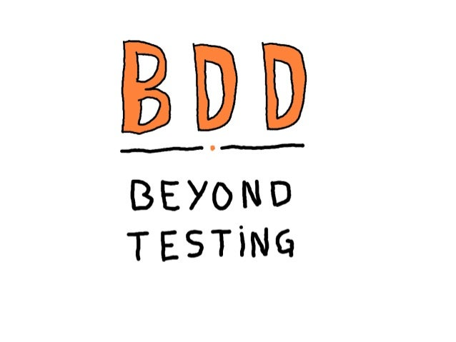 References • BDD in Action (http://www.manning.com/smart/) • Bridging the communication gap (http://www.acceptancetesting....