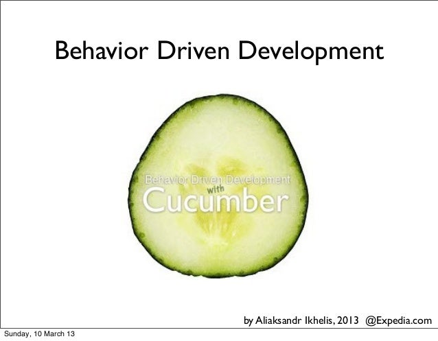 Solit Jan 2013, Behaviour Driven Development, Ихелис Александр