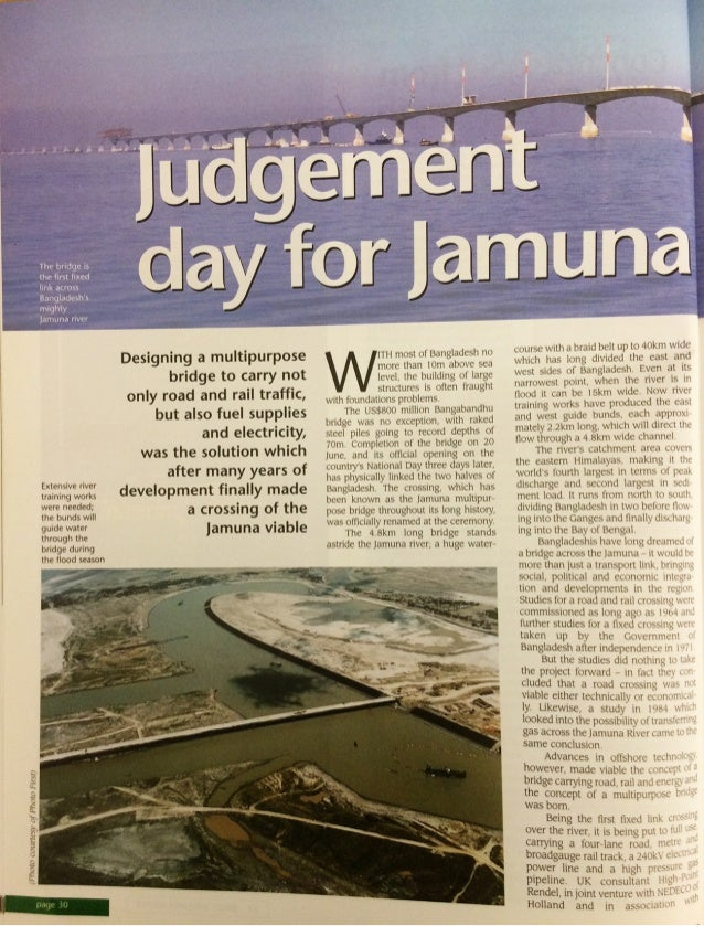 Bridge Design & Engineering - Jamuna Bridge 1998