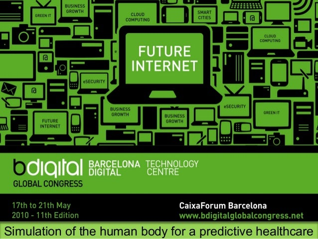 Simulation of the human body for a predictive healthcare