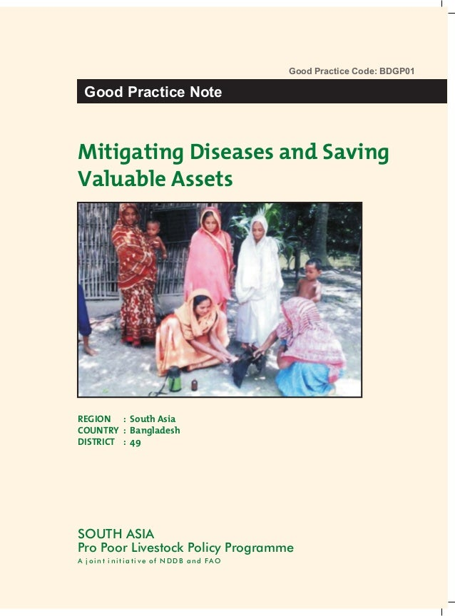 Mitigating Diseases and Saving Valuable Assets - Poultry Vaccinators Delivering Services to the Doorstep of the Poorest in Bangladesh (BDGP01)