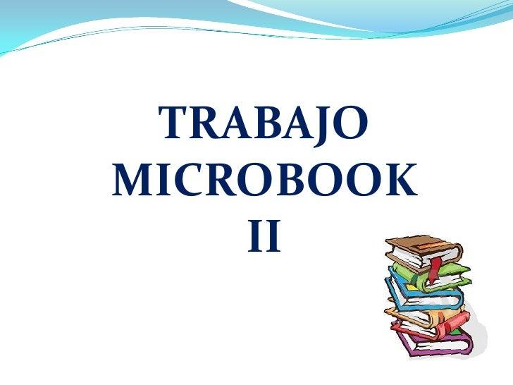 TRABAJOMICROBOOK    II