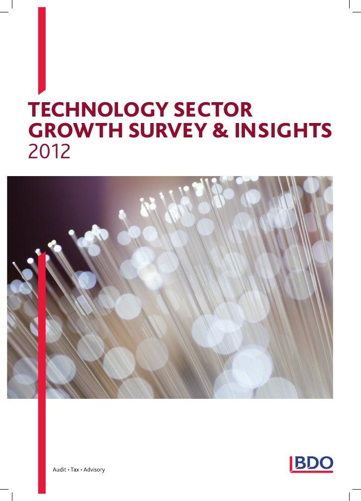BDOTechnology Survey 2012
