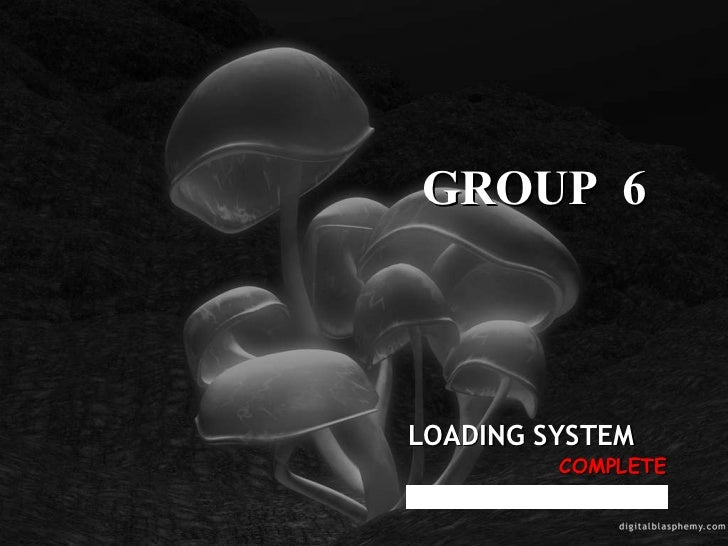 COMPLETE LOADING SYSTEM GROUP  6