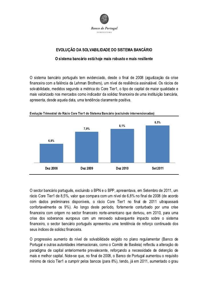 Bd p evoluçãosolvabilidadesistemabancário_3fev2012