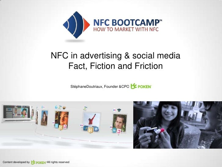 NFC in advertising & social media                             Fact, Fiction and Friction                                  ...