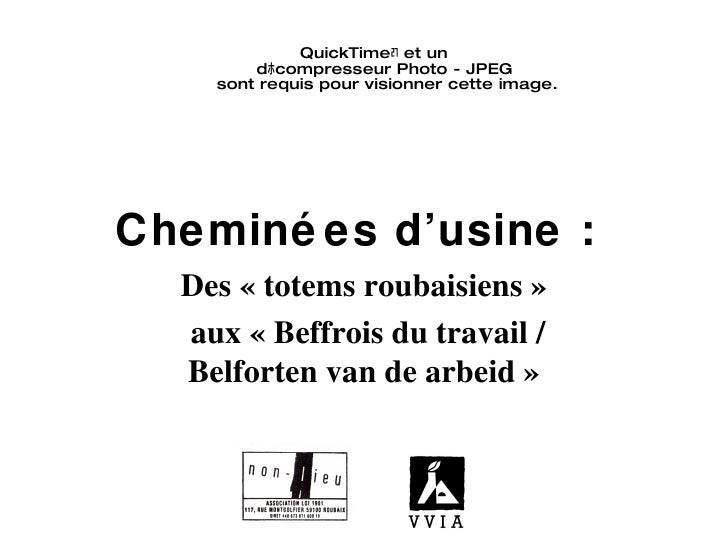 Des 'totems roubaisiens' aux 'beffrois du travail/belforten van de arbeid' (Olivier Muzellec & Adriaan Linters)