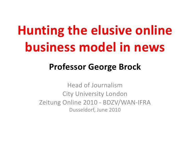 Zeitung Online 2010 presentation