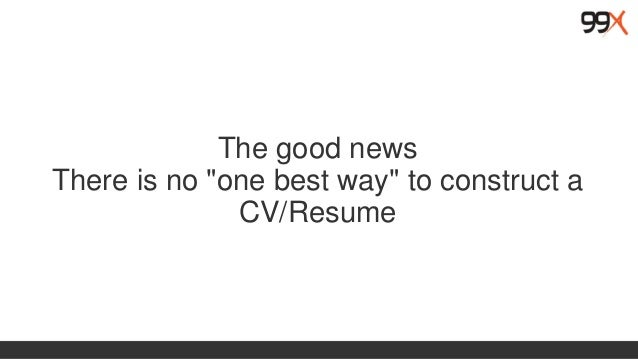 resume writing and online media presencehere how it looked like