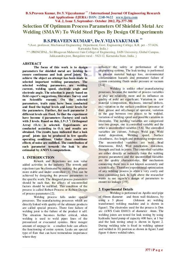 B.S.Praveen Kumar, Dr.Y.Vijayakumar ** / International Journal Of Engineering Research                And Applications (IJ...